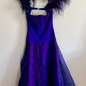 Tadashi Women's Size 10 Purple Gown